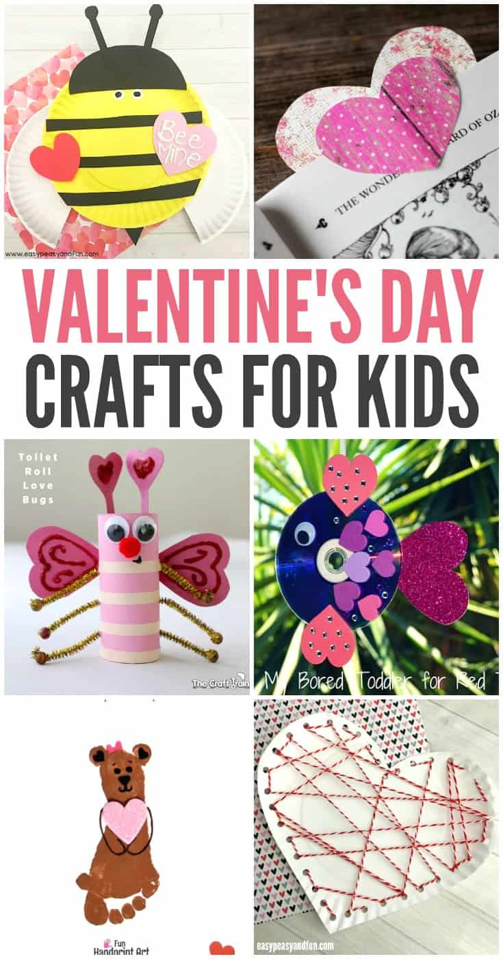 Best ideas about Valentine Day Crafts For Preschoolers Easy . Save or Pin 40 Valentine Crafts for Preschoolers Easy and Fun Now.