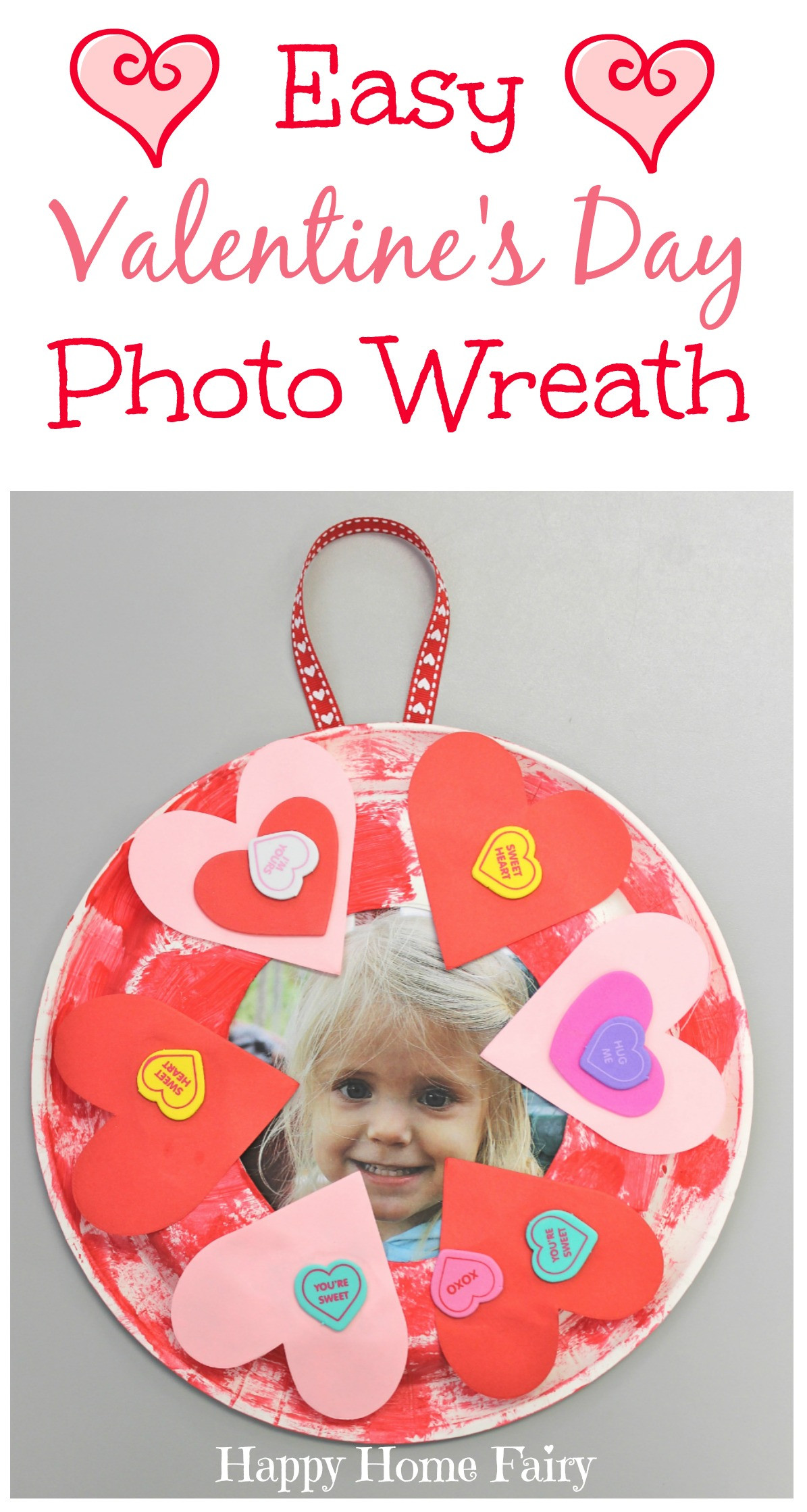 Best ideas about Valentine Day Crafts For Preschoolers Easy . Save or Pin Easy Valentine s Day Craft Happy Home Fairy Now.