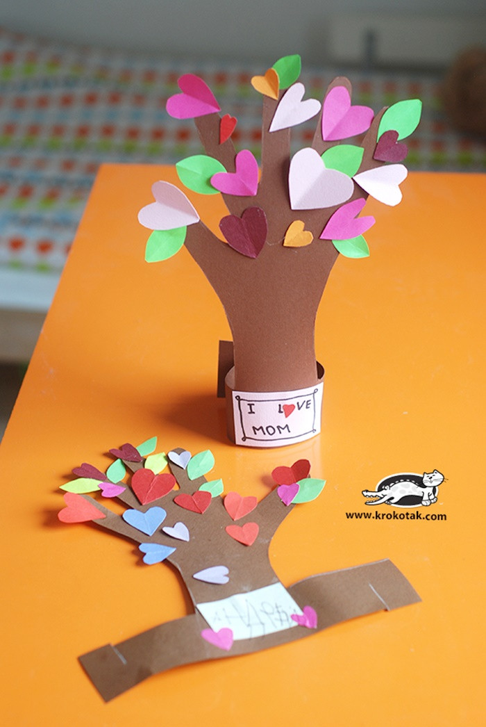 Best ideas about Valentine'S Day Craft Ideas For Preschoolers . Save or Pin 13 Creative and Sweet Kindergarten Mother s Day Crafts Now.