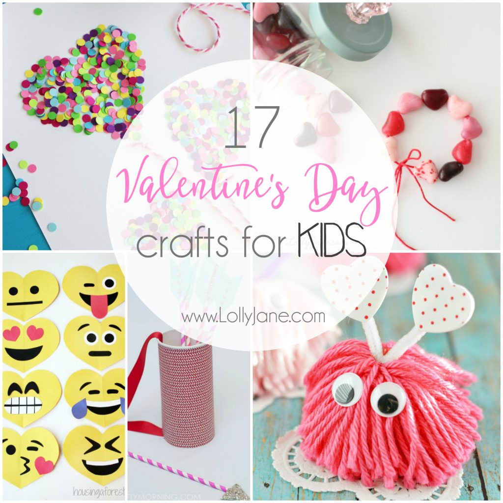 Best ideas about Valentine'S Day Craft Ideas For Preschoolers . Save or Pin 17 Valentine s Day Crafts for Kids Lolly Jane Now.