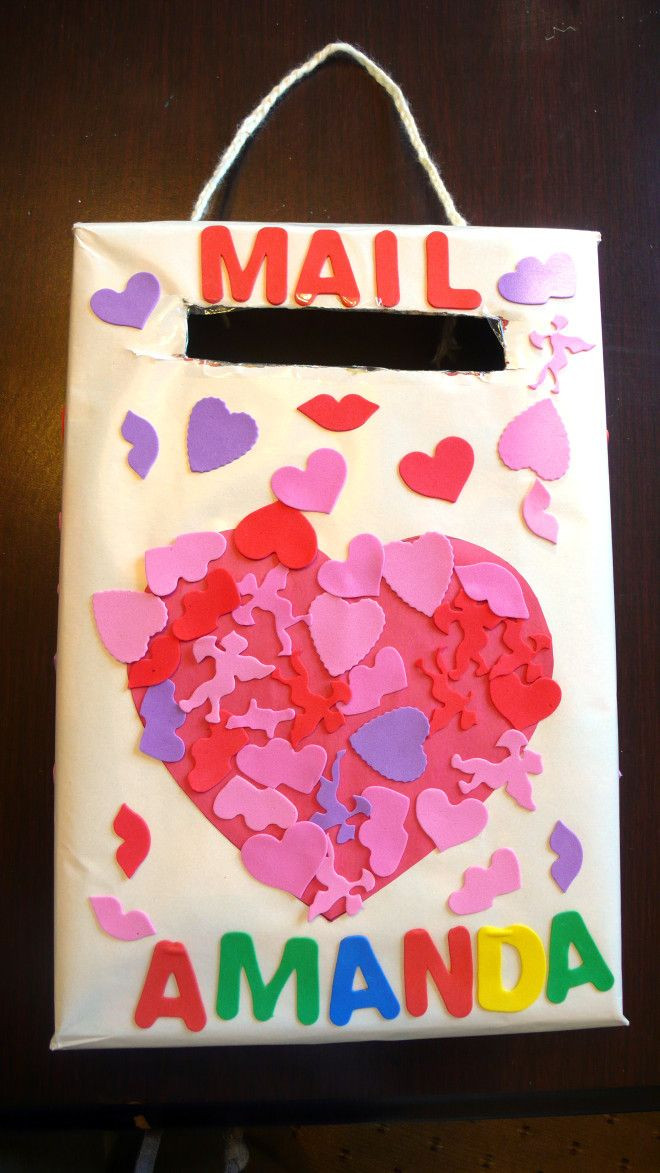 Best ideas about Valentine'S Day Craft Ideas For Preschoolers . Save or Pin Valentines Day Mail Box A great project for Preschoolers Now.