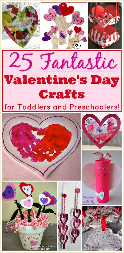 Best ideas about Valentine'S Day Craft Ideas For Preschoolers . Save or Pin Valentine Crafts for Preschoolers 25 Easy Projects for Now.