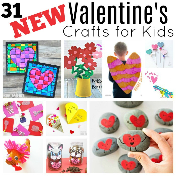 Best ideas about Valentine'S Day Craft Ideas For Preschoolers . Save or Pin 31 New Valentine s Day Projects Red Ted Art Now.