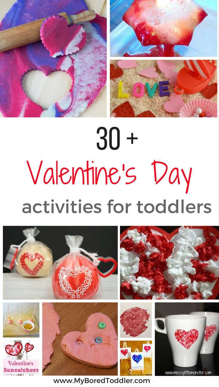 Best ideas about Valentine'S Day Craft Ideas For Preschoolers . Save or Pin Valentine s Day Activities for Toddlers My Bored Toddler Now.