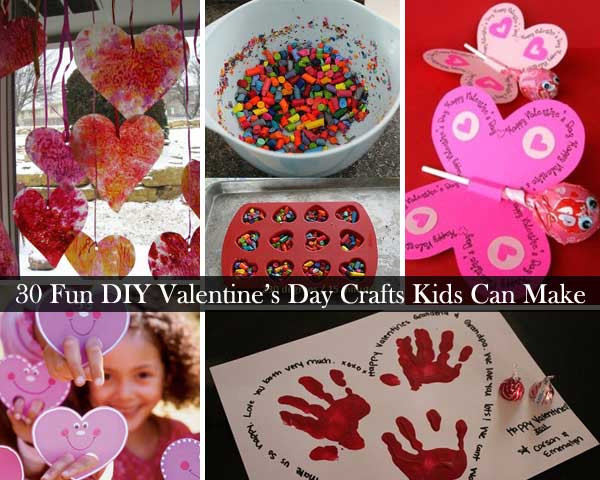 Best ideas about Valentines Craft Ideas For Kids . Save or Pin 30 Fun and Easy DIY Valentines Day Crafts Kids Can Make Now.