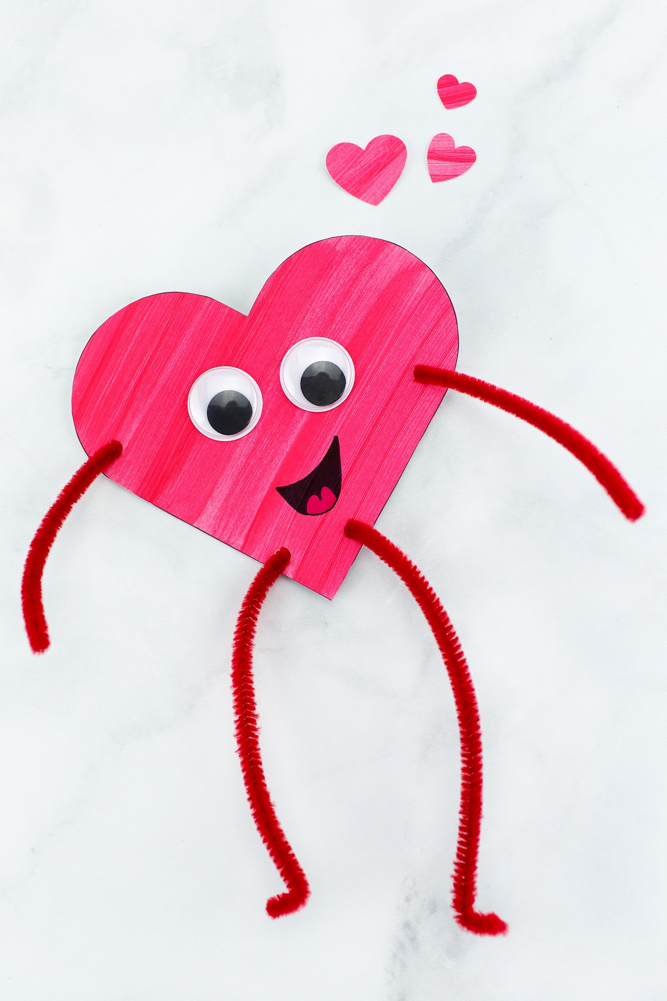 Best ideas about Valentines Day Craft Ideas For Kids . Save or Pin Heart Bud s Easy Valentine s Day Craft for Kids Now.