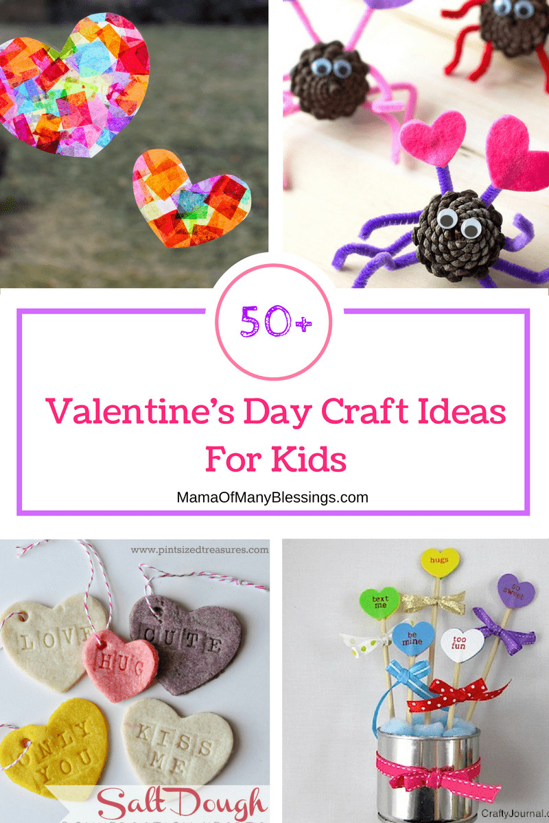 Best ideas about Valentines Day Craft Ideas For Kids . Save or Pin 50 Awesome Quick and Easy Kids Craft Ideas for Now.