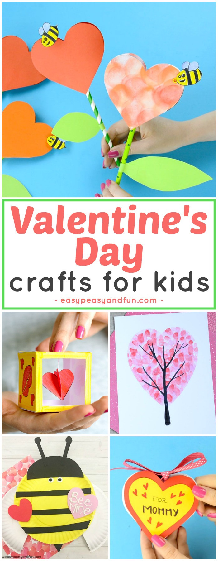 Best ideas about Valentines Day Craft Ideas For Kids . Save or Pin Valentines Day Crafts for Kids Art and Craft Ideas for Now.
