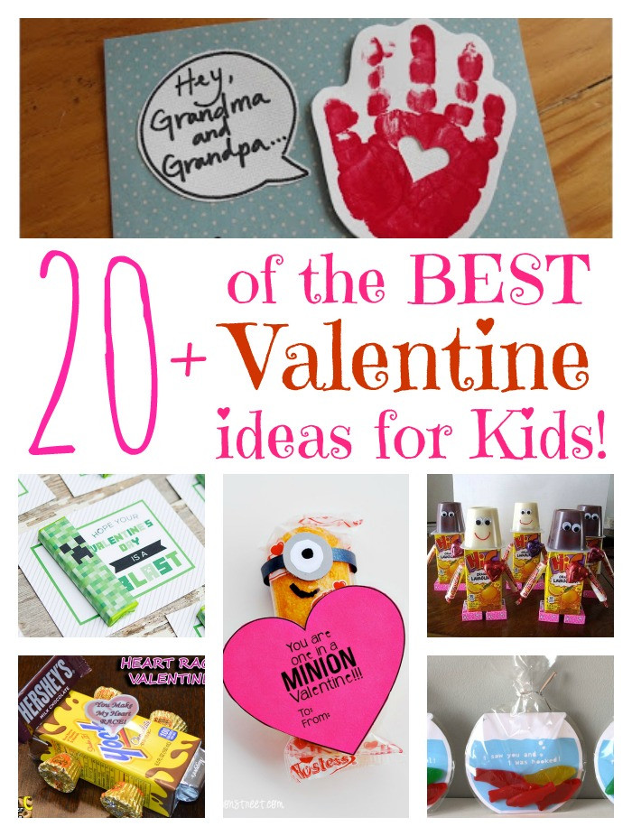 Best ideas about Valentines Day Craft Ideas For Kids . Save or Pin Over 20 of the BEST Valentine ideas for Kids Kitchen Now.