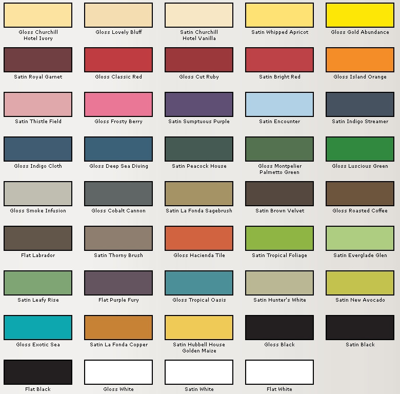 Best ideas about Valspar Paint Colors Chart . Save or Pin Make Your Own Custom Table Storefront Life Now.