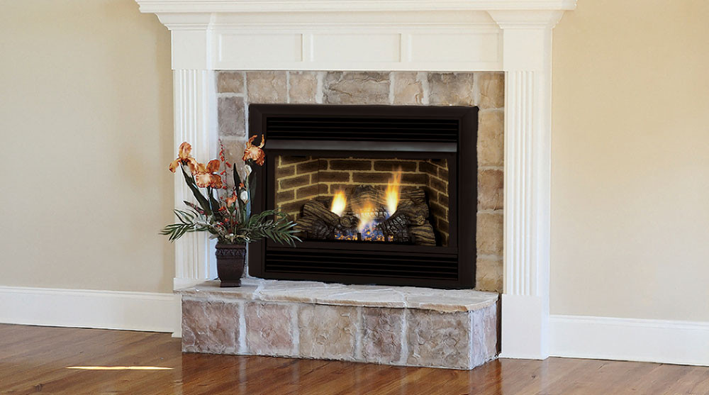 Best ideas about Ventless Gas Fireplace Inserts . Save or Pin Awesome Living Room The Ventless Gas Fireplace Insert Coal Now.