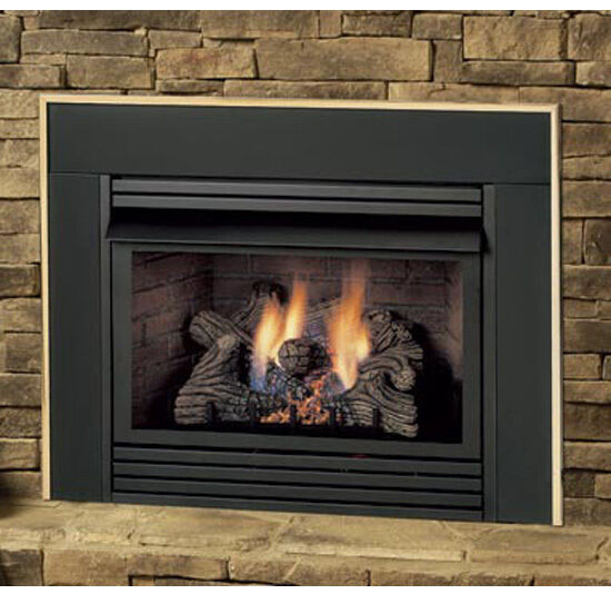 """Best ideas about Ventless Gas Fireplace Inserts . Save or Pin """"Monessen DIS33 Ventless Propane or Natural Gas"""" Now."""
