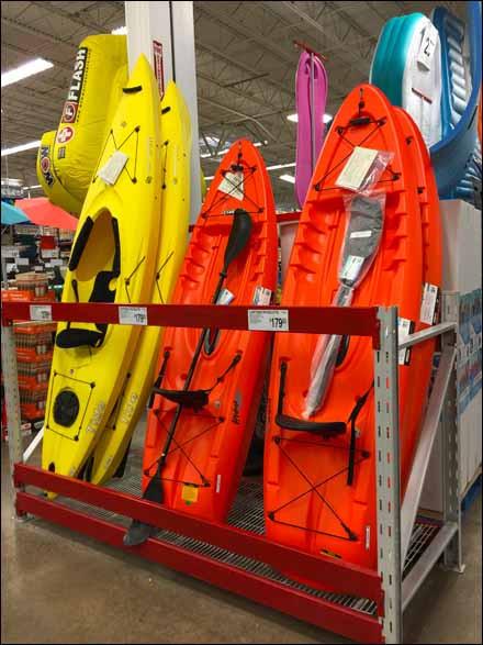 Best ideas about Vertical Kayak Storage . Save or Pin Kayak Pallet Rack Vertical Display Now.