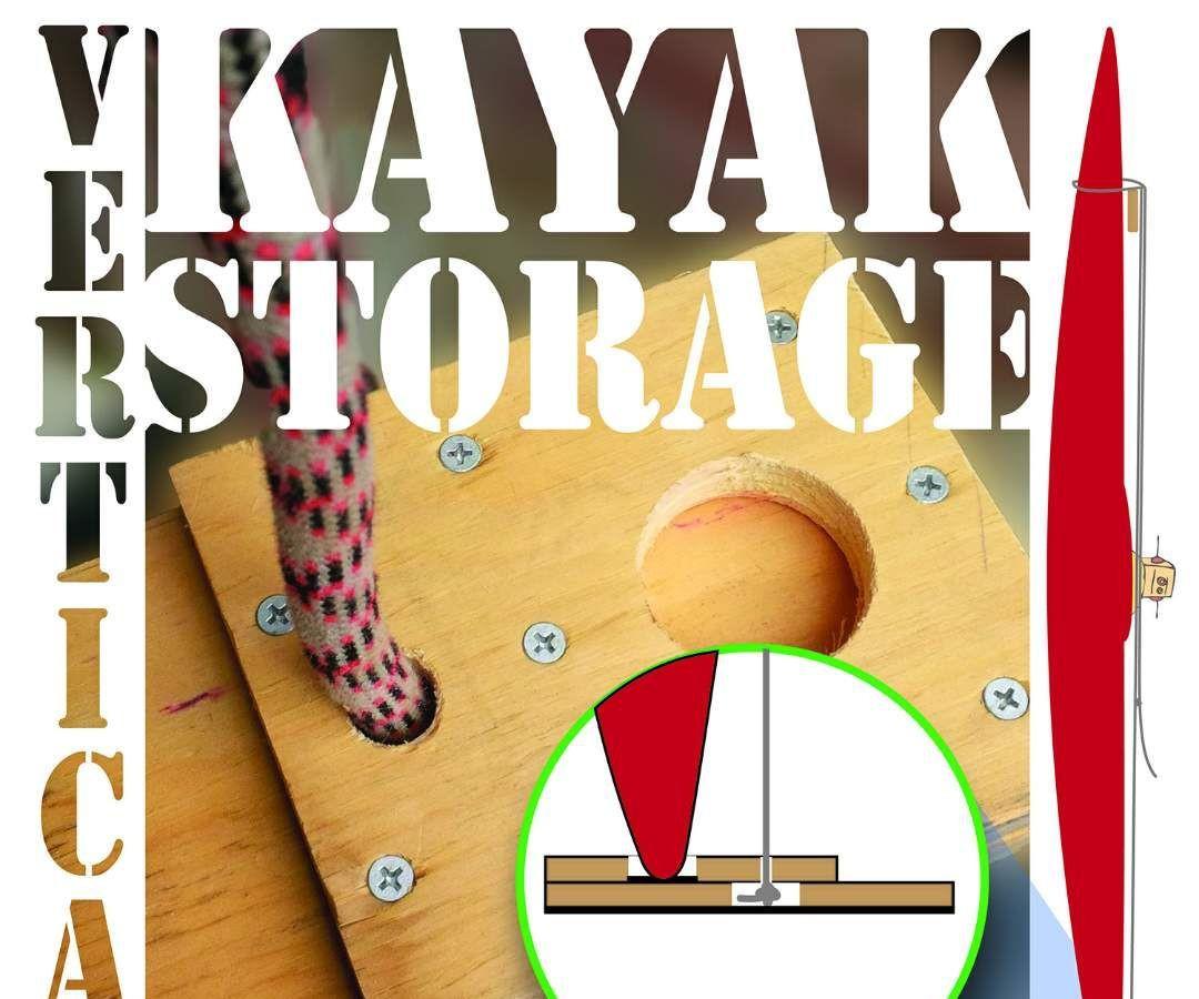 Best ideas about Vertical Kayak Storage . Save or Pin Vertical Kayak Storage Now.