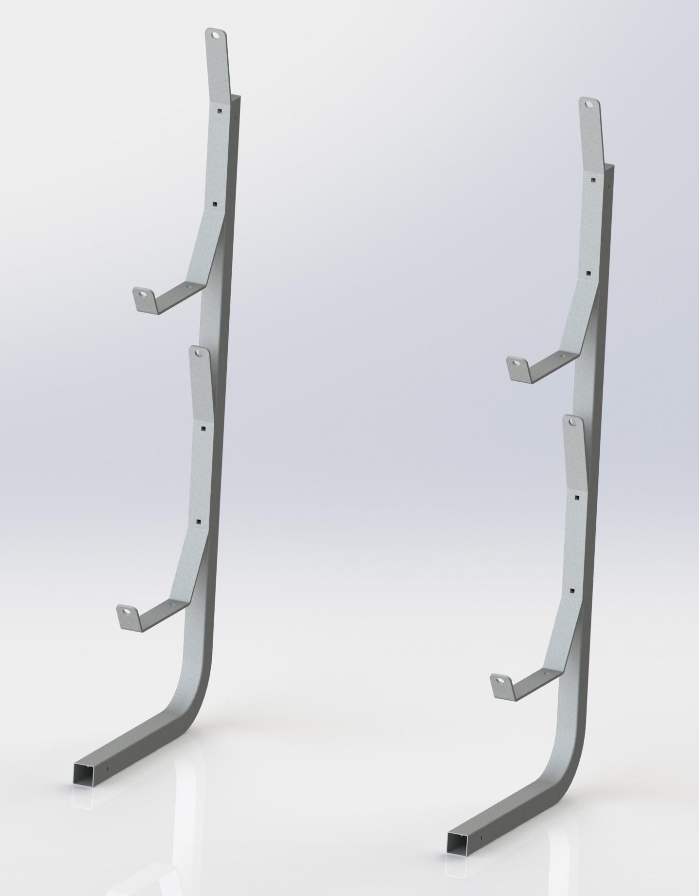 Best ideas about Vertical Kayak Storage . Save or Pin Vertical Kayak Rack Dock SidesDock Sides Now.