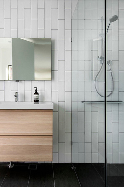 Best ideas about Vertical Subway Tile . Save or Pin Bathroom Inspiration Gorgeous Tile Ideas Now.
