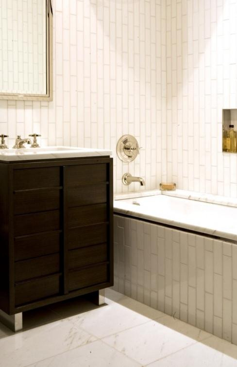 Best ideas about Vertical Subway Tile . Save or Pin The Aestate Now.