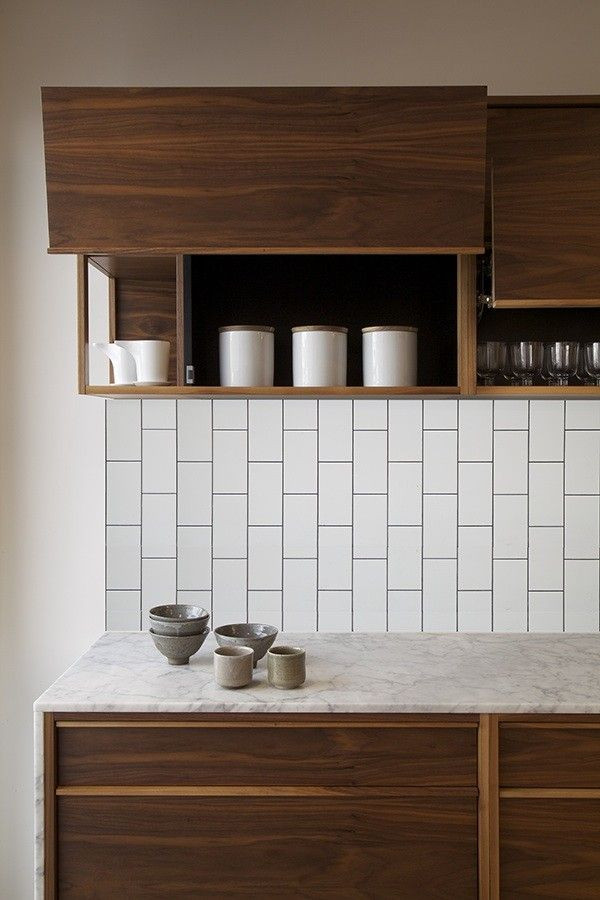 Best ideas about Vertical Subway Tile . Save or Pin Gorgeous Variations on Laying Subway Tile Now.