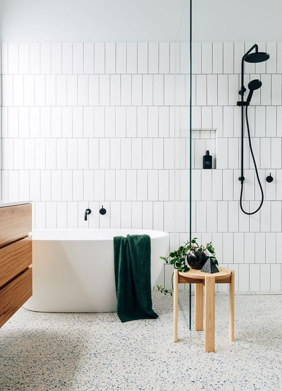 Best ideas about Vertical Subway Tile . Save or Pin Subway Tile Patterns Now.