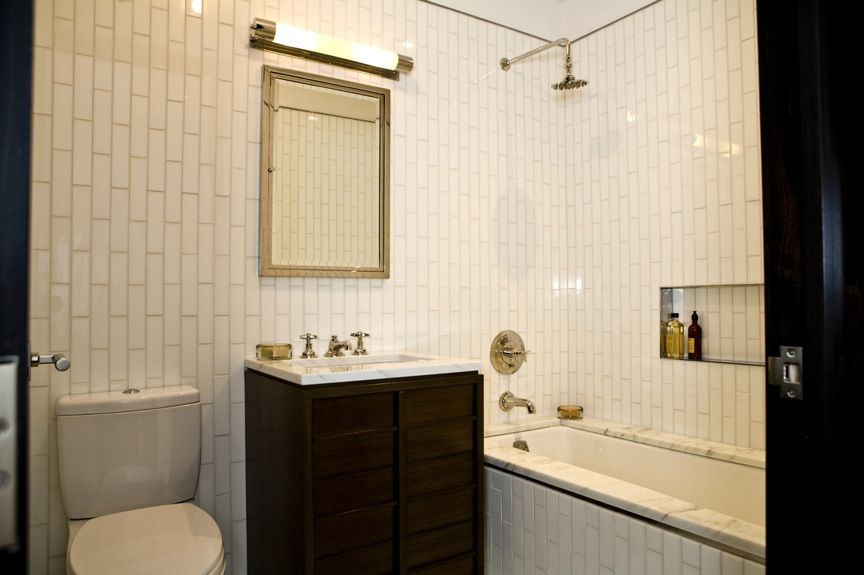 Best ideas about Vertical Subway Tile . Save or Pin Whoa VERTICAL subway tile What what Super cool Excuse Now.
