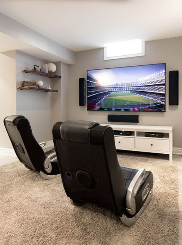 Best ideas about Video Game Room Furniture . Save or Pin cozy video gaming furniture Now.