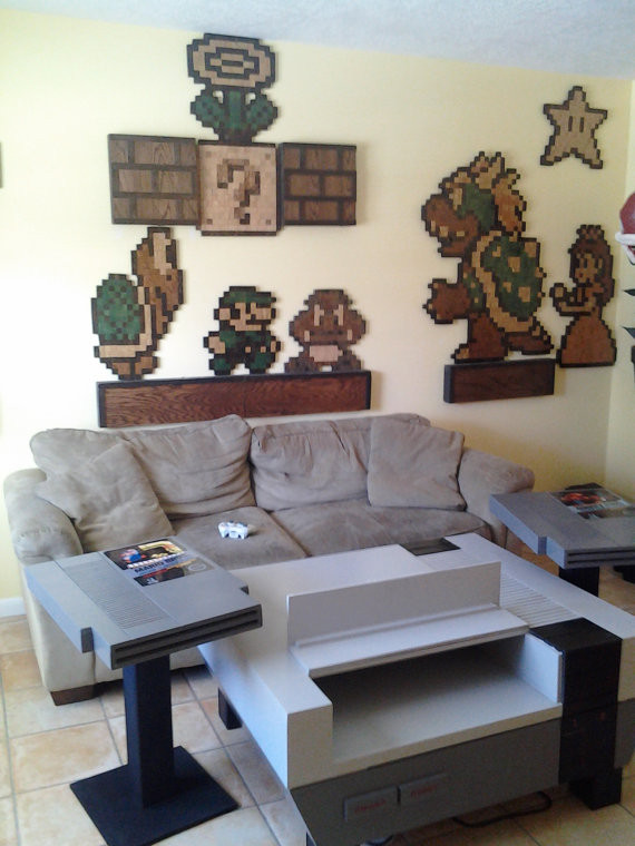 Best ideas about Video Game Room Furniture . Save or Pin Nerdy Bits Steampunk Cyberman Nintendo Furniture Gamble Now.