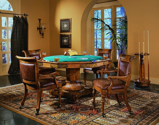 Best ideas about Video Game Room Furniture . Save or Pin The Ultimate Game Room Poker Table Sets Now.