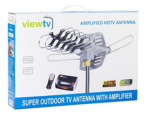 Best ideas about Viewtv Outdoor Amplified Antenna . Save or Pin ViewTV Outdoor Amplified Antenna 150 Miles Range 360 Now.
