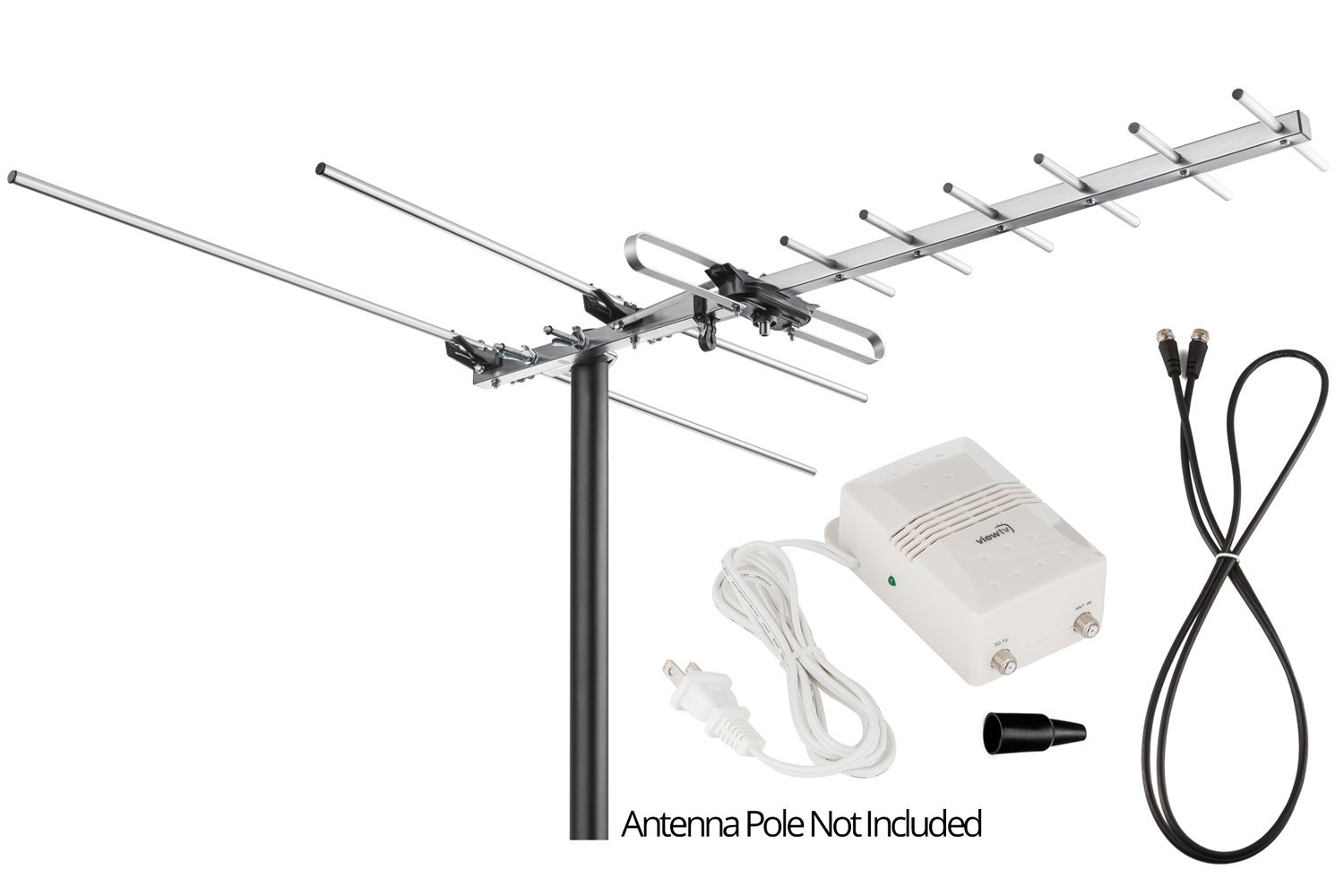 Best ideas about Viewtv Outdoor Amplified Antenna . Save or Pin Viewtv Vt 27Uv Digital Amplified Outdoor Indoor Attic Hdtv Now.