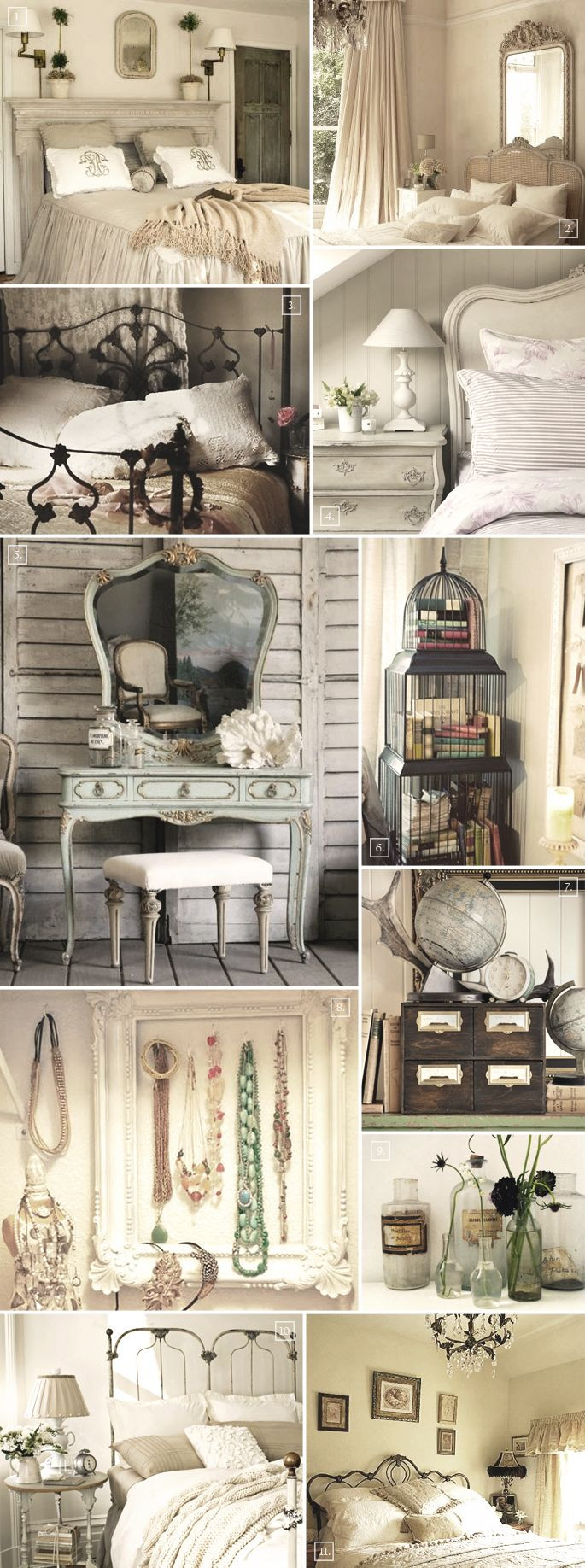Best ideas about Vintage Bedroom Ideas . Save or Pin Vintage Bedroom Decor on Pinterest Now.