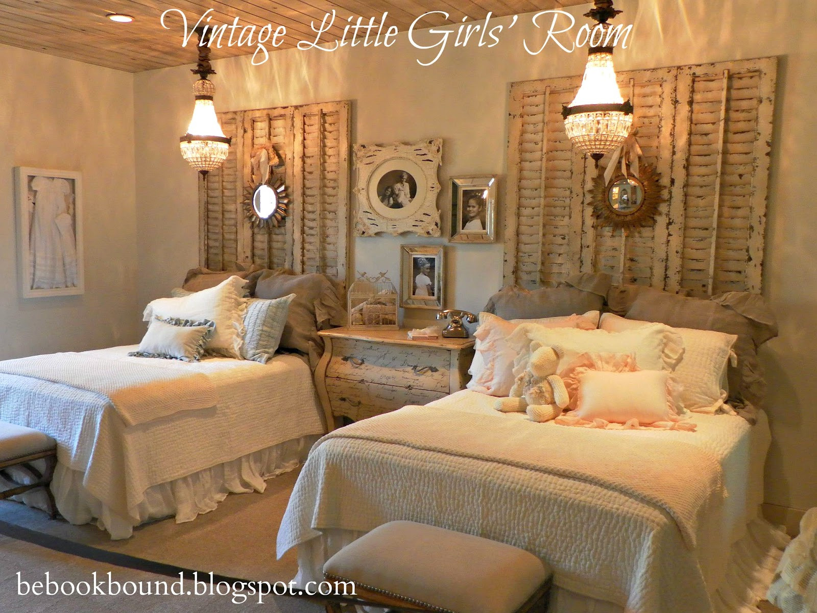 Best ideas about Vintage Bedroom Ideas . Save or Pin Be Book Bound Little House on the Prairie A Vintage Now.