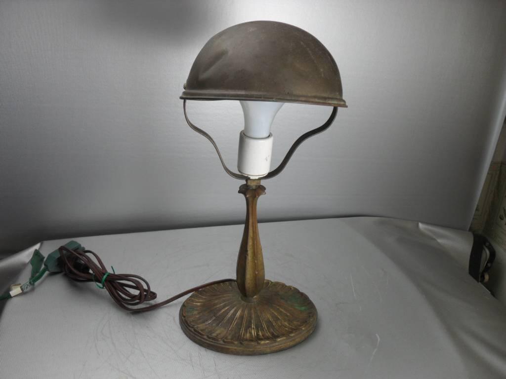 Best ideas about Vintage Desk Lamp . Save or Pin Vintage Antique Art Nouveau Brass Table Desk Lamp Now.
