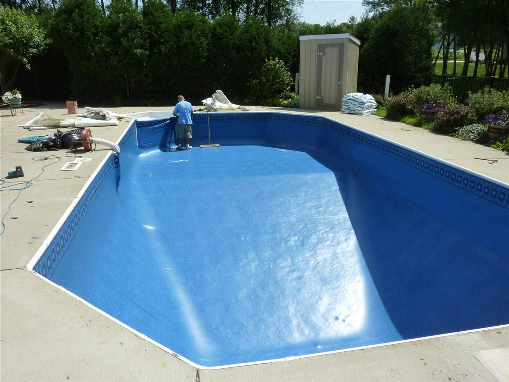 Best ideas about Vinyl Inground Pool . Save or Pin Inground Pool Liners Ideas Now.