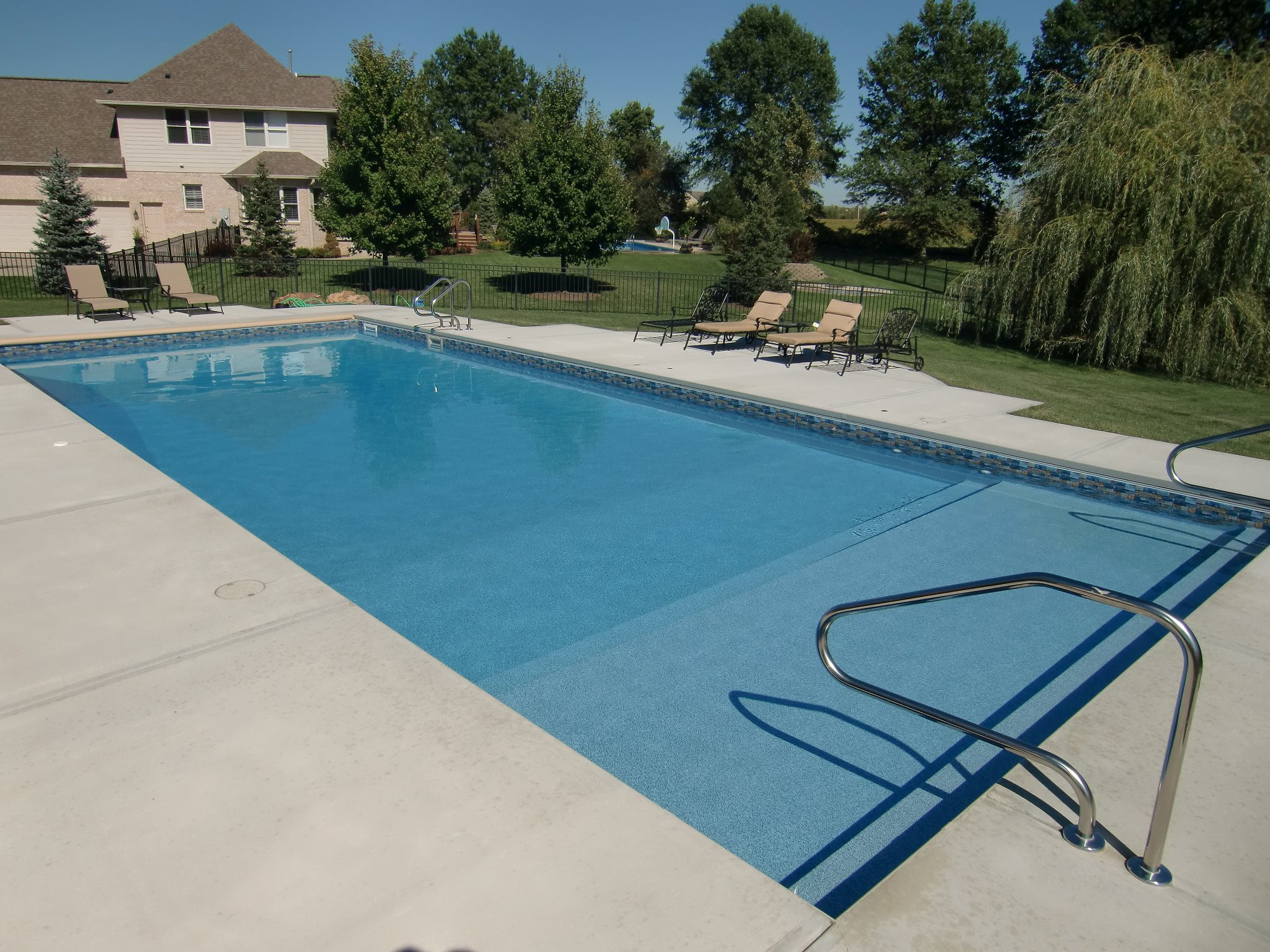 Best ideas about Vinyl Inground Pool . Save or Pin Picture Vinyl Liner Pools Now.