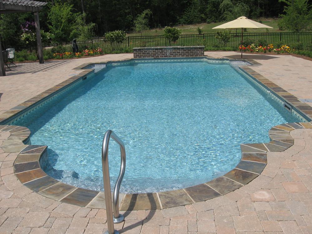 Best ideas about Vinyl Inground Pool . Save or Pin Hattiesburg In ground Gunite Pool Builder Vinyl Liner Pool Now.
