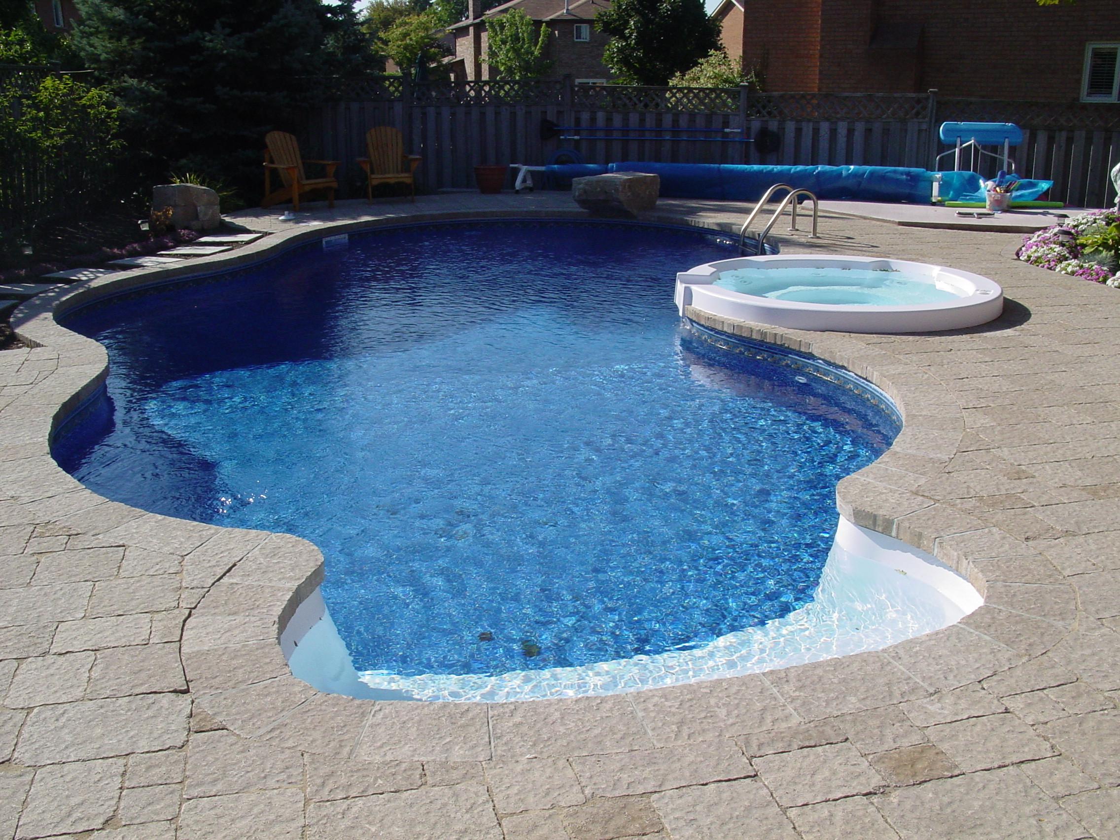 Best ideas about Vinyl Inground Pool . Save or Pin Tulsa Custom Pools Vinyl and Fiberglass Pools Custom Now.