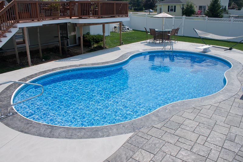 Best ideas about Vinyl Inground Pool . Save or Pin Vinyl Liner Pools Gallery Northern Pool & Spa ME NH MA Now.