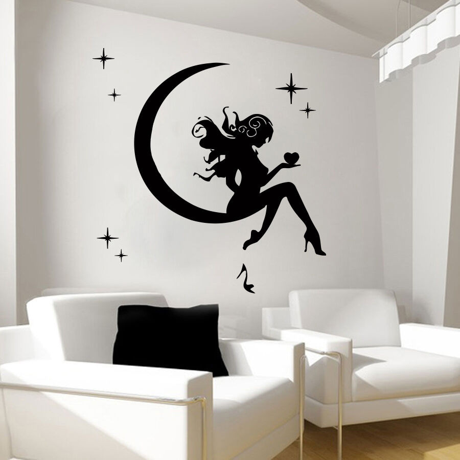 Best ideas about Vinyl Wall Art . Save or Pin Wall Decals Fairy Decal Vinyl Sticker Bathroom Kitchen Now.