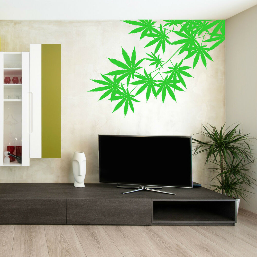 Best ideas about Vinyl Wall Art . Save or Pin CANNABIS TREE LEAF PLANT WEED Vinyl Wall Art Sticker Room Now.