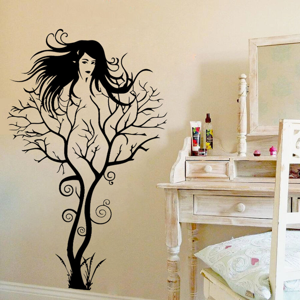 Best ideas about Vinyl Wall Art . Save or Pin Creative y Girl Tree Removable Wall Sticker Decal Home Now.