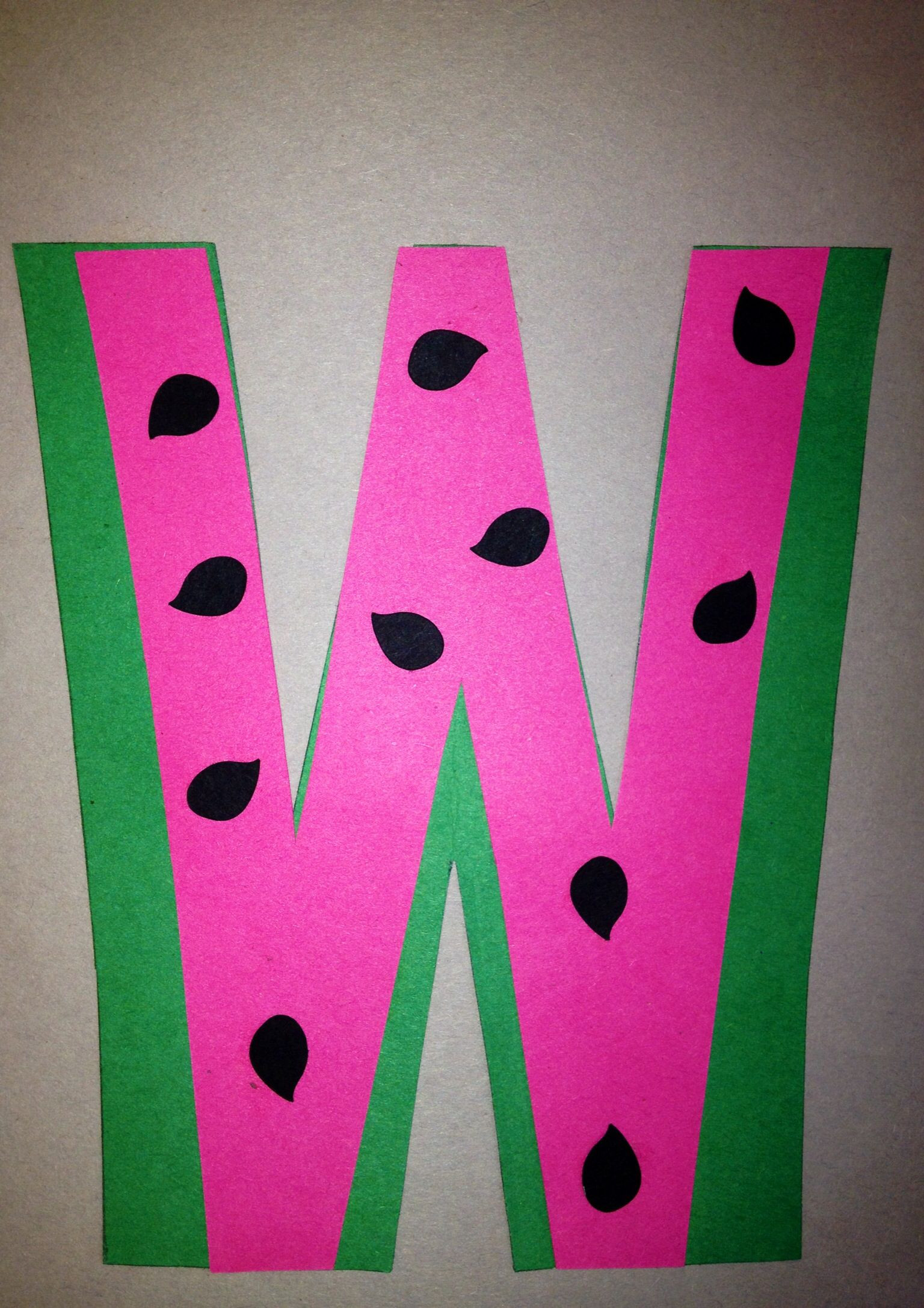 Best ideas about W Crafts For Preschoolers . Save or Pin Preschool Letter W Craft Now.