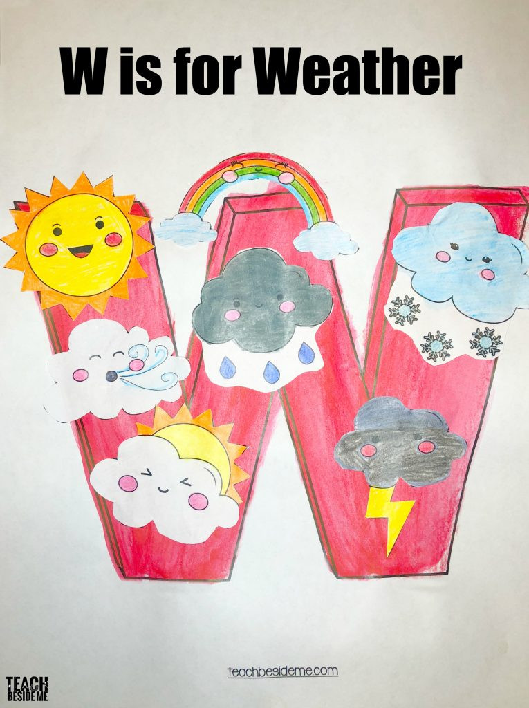 Best ideas about W Crafts For Preschoolers . Save or Pin Letter of the Week Preschool Letter W Activities Teach Now.