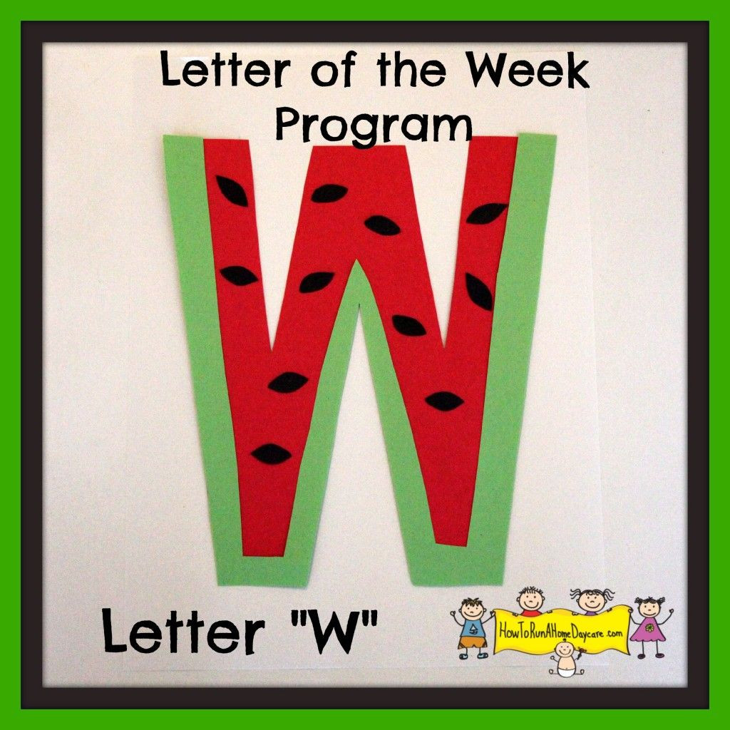 "Best ideas about W Crafts For Preschoolers . Save or Pin Letter ""W"" Letter of the Week Program Now."