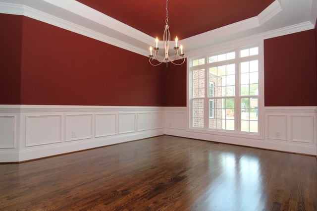 Best ideas about Wainscoting Dining Room . Save or Pin Dining room with wainscoting Traditional raleigh by Now.