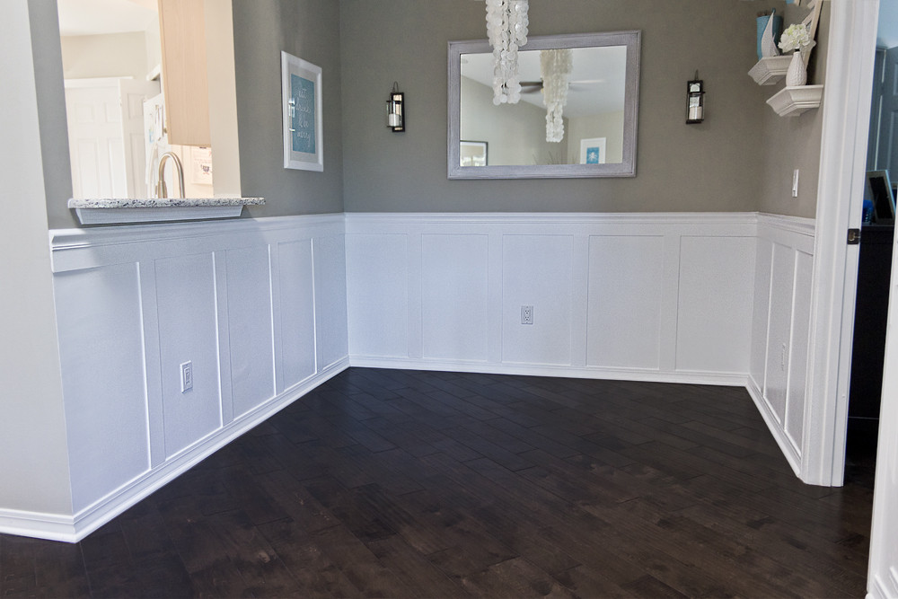 Best ideas about Wainscoting Dining Room . Save or Pin Building a Home Remodeling Dining room wainscoting = Done Now.