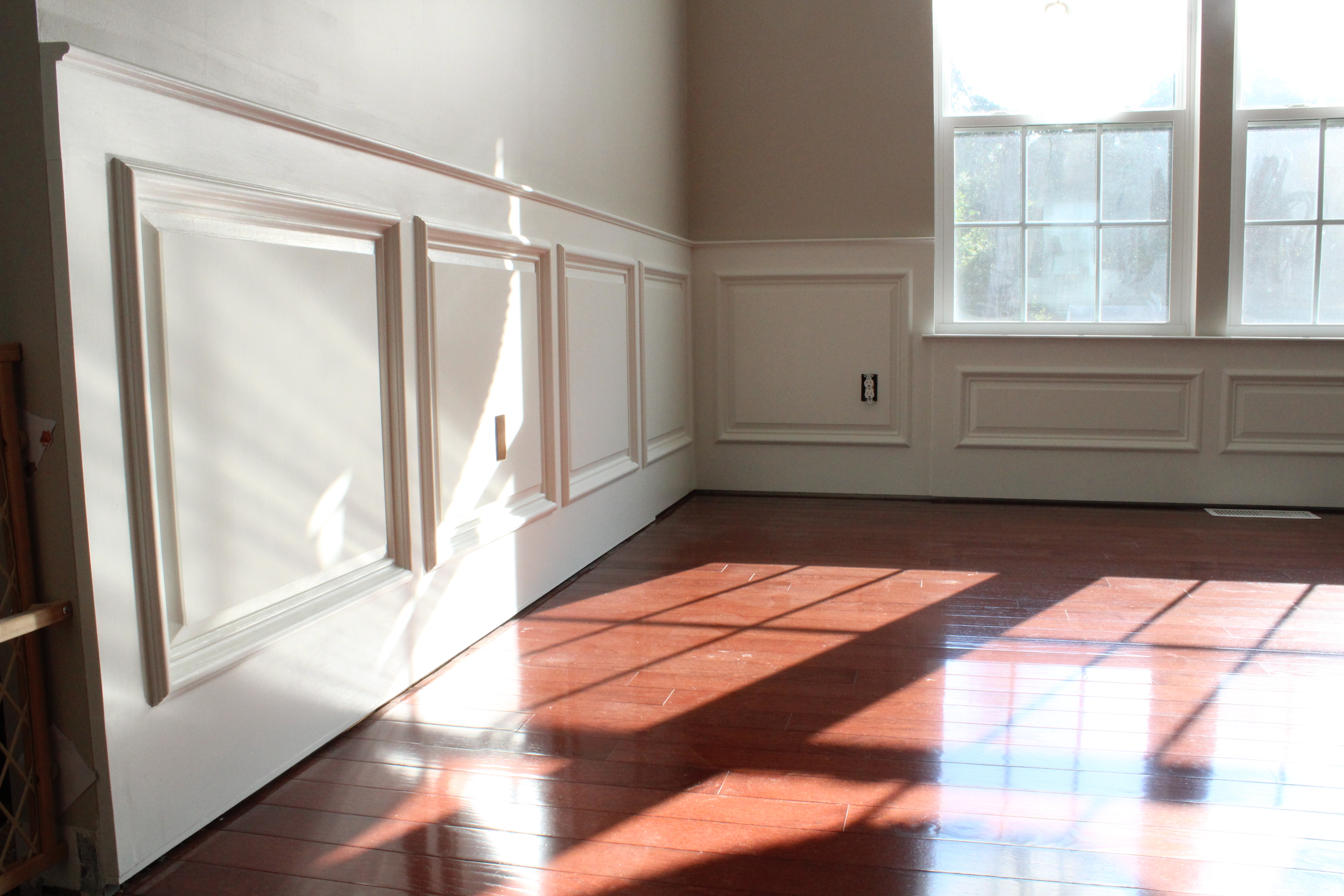 Best ideas about Wainscoting Dining Room . Save or Pin Our Home from Scratch Now.