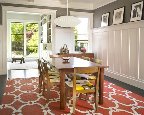 Best ideas about Wainscoting Dining Room . Save or Pin Tall Wainscoting Now.