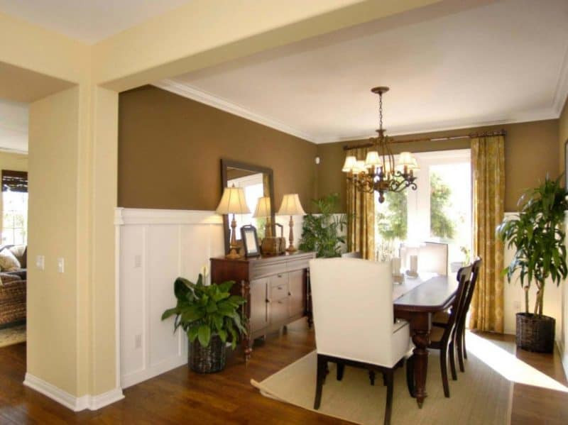 Best ideas about Wainscoting Dining Room . Save or Pin Wainscoting Styles Inspiration Ideas to Make Your Room Now.