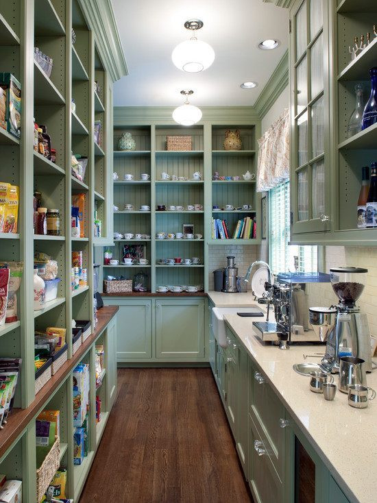 Best ideas about Walk In Pantry Ideas . Save or Pin 10 Kitchen Pantry Design Ideas — Eatwell101 Now.