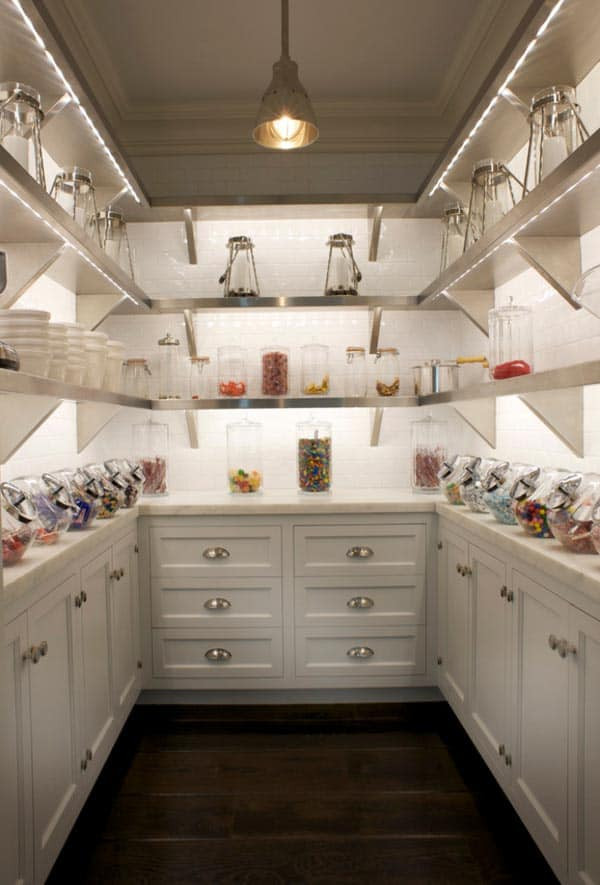 Best ideas about Walk In Pantry Ideas . Save or Pin 53 Mind blowing kitchen pantry design ideas Now.